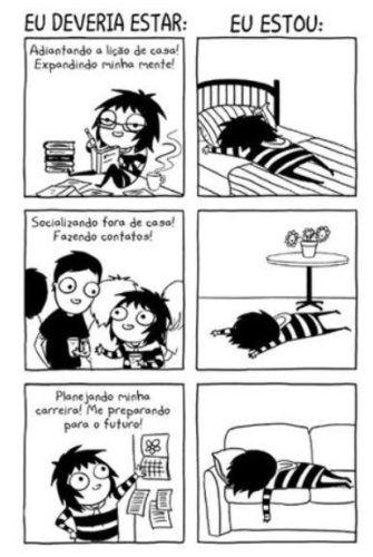 Obrigações x Dormir 1