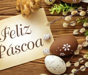Felicidades nessa Páscoa